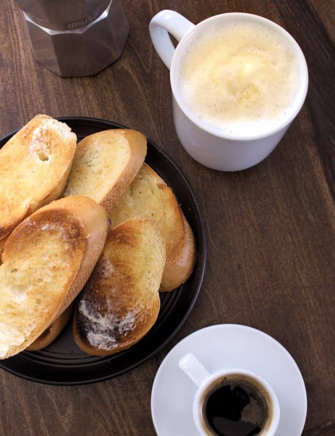 Cuban Cafecito and Cafe Con Leche