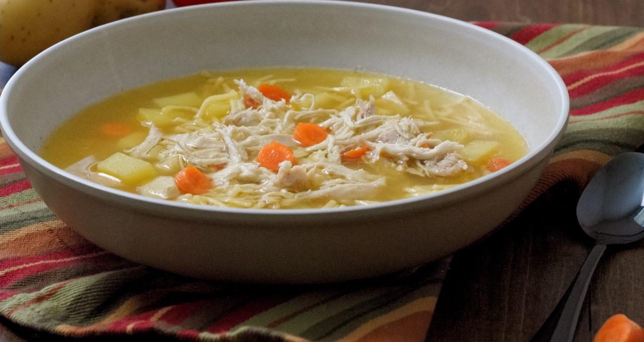 Cuban Style Chicken Soup