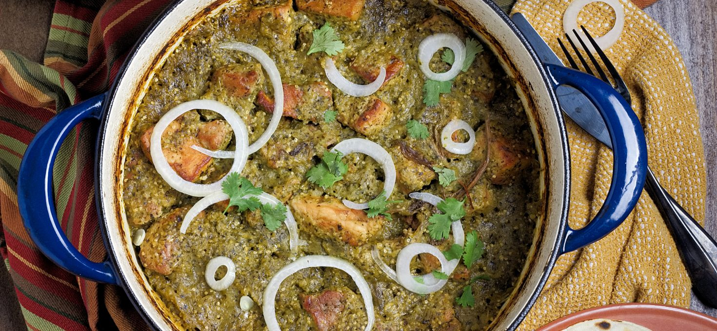 Braised Pork Chile Verde