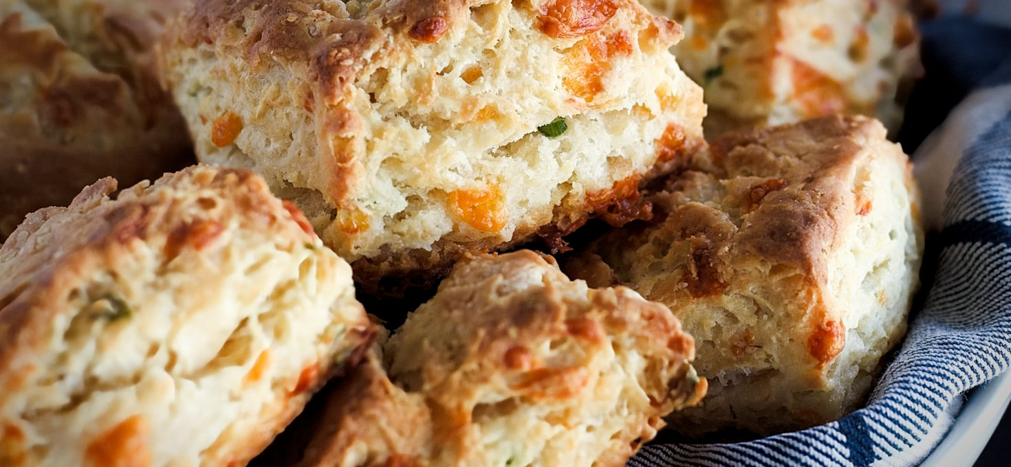 Cheddar and Sour Cream Biscuits