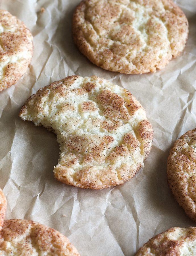 Simple Snickerdoodle Cookies