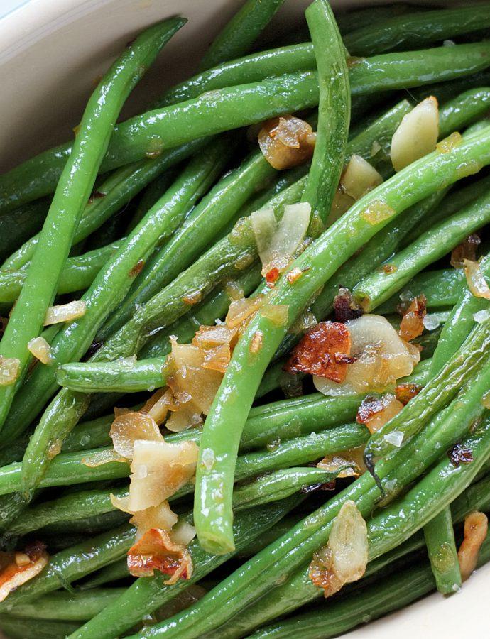 Garlic Sautéed Green Beans