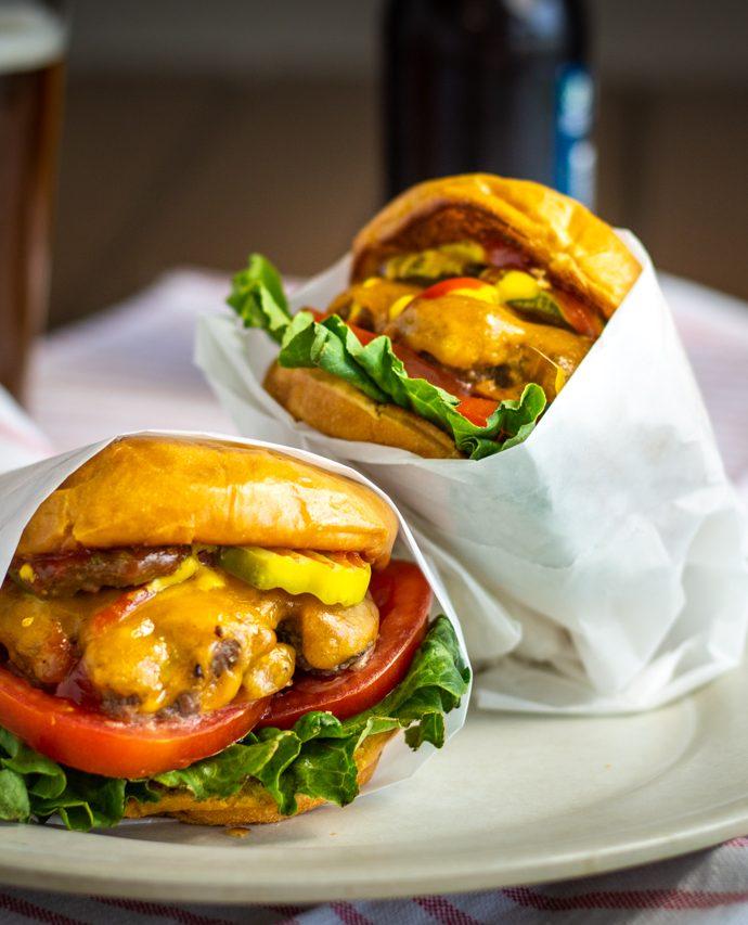 Cast Iron Smash Burgers